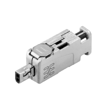 IP20 plug field attachable